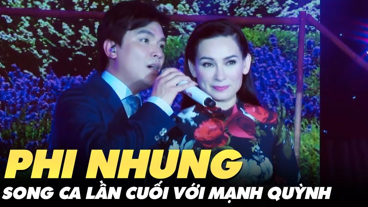 Phi Nhung chiều khán giả hết mực trong đêm diễn cuối cùng với Mạnh Quỳnh - Tiễn biệt ca sĩ Phi Nhung