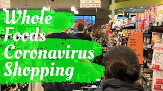 WHOLE FOODS Coronavirus Shopping Walking Tour | Whole Foods Market in El Segundo, California