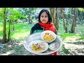 Bengali Traditional Dry Food 2: Rice Fried with Chickpea Fried Recipe by Mom | Village Food Factory
