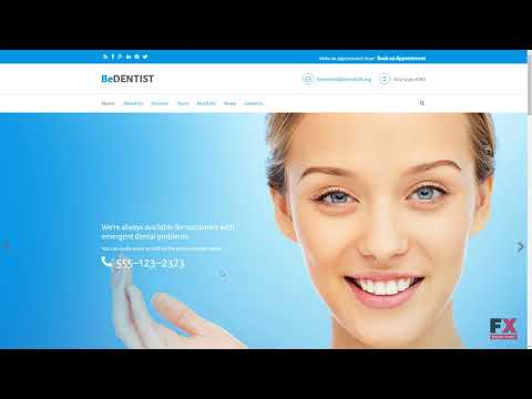 BeDentist - Dentist & Medical Premium Drupal Template TMT | Free Temp