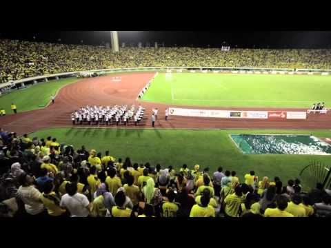 HBT 2012 Final - SInging Brunei National Anthem