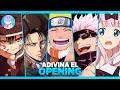 ADIVINA el OPENING de ANIME - 40 Openings 💙 ¿Cuánto sabes de anime? TEST de ANIME | Anime QUIZ 💙