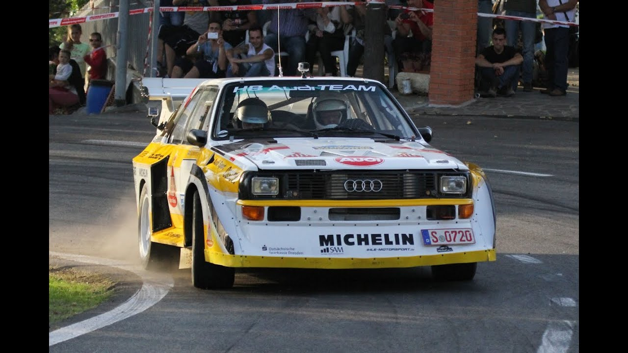 Rally Legend 2014 Group B Audi S1 Delta S4 205 T16