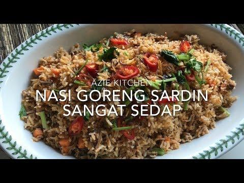 Nasi Goreng Ikan Sardin Yang Sangat Sedap
