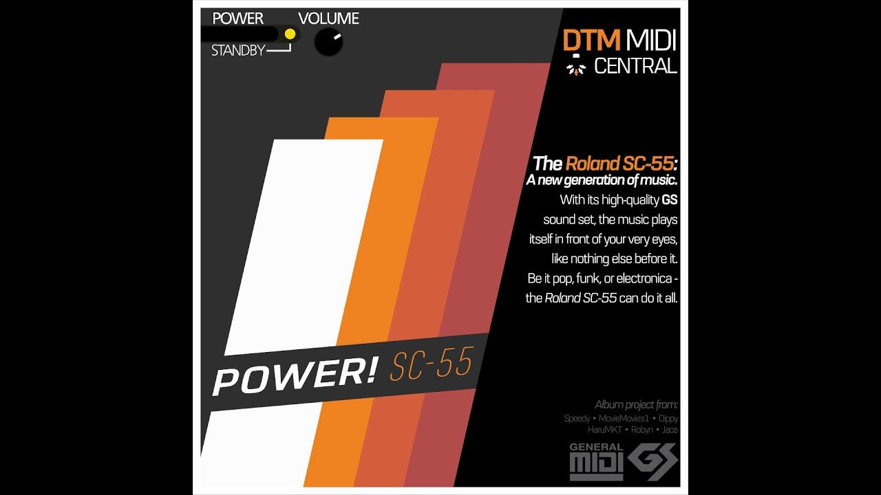 POWER! SC-55 (Full Album)