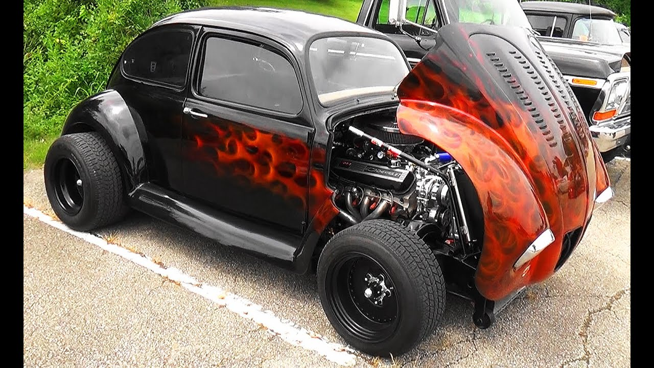 volkswagen bug super bug nsra street rod nationals  youtube