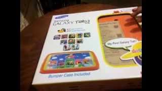 Unboxing (Desempaquetado) Samsung Galaxy Tab 3 Kid