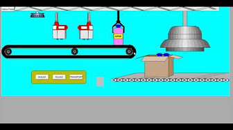 Plc based automatic bottle filling project working aka videos bottle filling plant workings scada training in jaipur plc training in jaipur ccuart Gallery