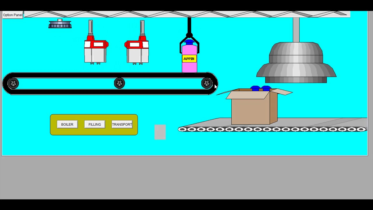 Bottle filling plant workings scada training in jaipur plc bottle filling plant workings scada training in jaipur plc training in jaipur ccuart Image collections