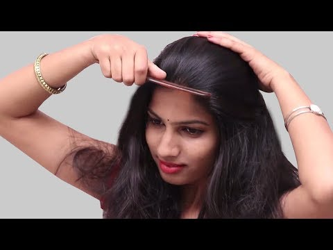 Beautiful hairstyles in Just 1 Minute | self hairstyles 2018 | Hairstyles for School , College, Work