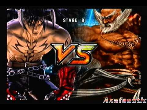 Tekken 5 Story Mode Devil Jin Part 2 Of 2 Youtube