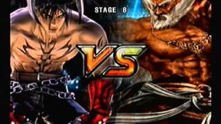 vuclip Tekken 5 Story Mode: Devil Jin [Part 2 of 2]