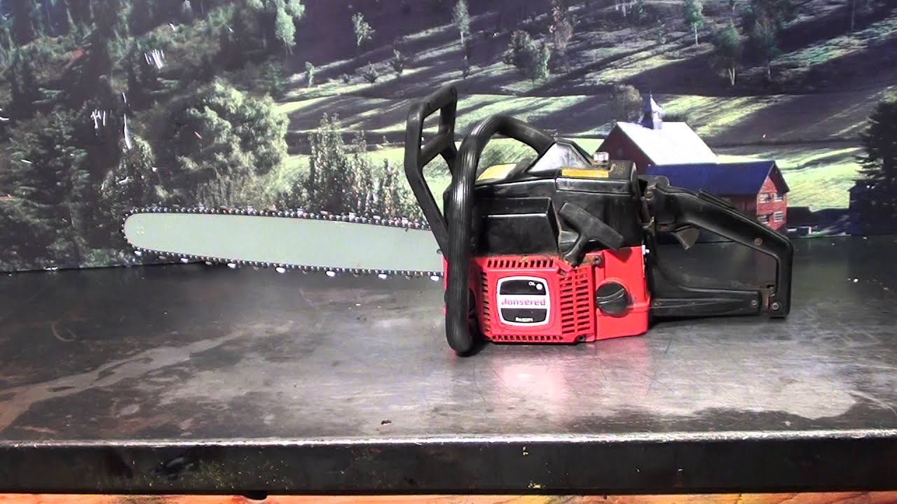 the chainsaw guy shop talk jonsered 450 chainsaw 12 10 youtube rh youtube com Chain Saws Jonsered 49SP Jonsered Chainsaws Manuals