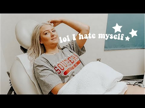 LASER TATTOO REMOVAL VLOG *painful*