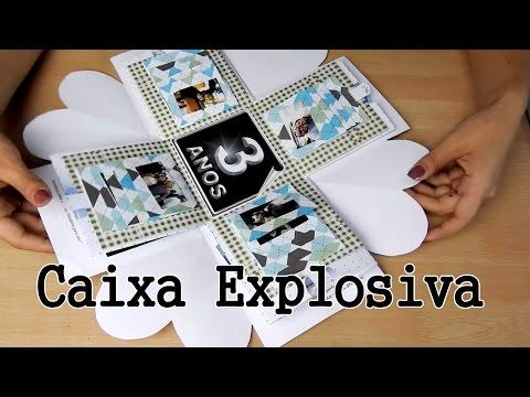 Sil Diy Caixa Explosiva Explosão