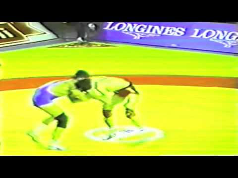 1989 Senior World Championships: 52 kg Valentin Jordanov (BUL) vs. Spain