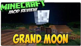 GRAND MOON MOD MINECRAFT 1.8 REVIEW ESPAÑOL | Luna Gigante | Easter Egg de GTA