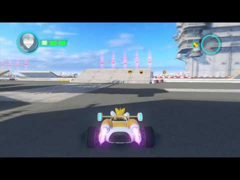 Sonic & All-Stars Racing Transformed (Wii U) - Battle Bay [Special Custom Game #23] |