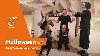 La familia Itarte Vlogs adopta un monstruo de #PortAventura Park  👨👩👧👧+👻