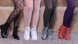 Примерка колготок и обуви / Весна 2020 😍 Tights & Stockings