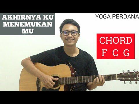 Chord Mudah Akhirnya Ku Menemukanmu Naff Tutorial Gitar Pemula Youtube