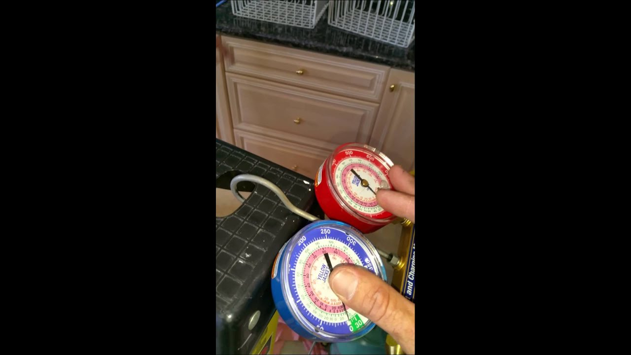 Adding Stop Leak To Refrigerator With Freon Leak Youtube