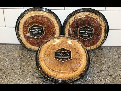 Marketside (Walmart Brand): Bourbon Pecan Pie, Pecan Almond Pie & Triple Berry Pie Review