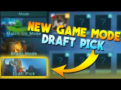 Mobile Legends NEW GAME MODE! (Draft Pick)