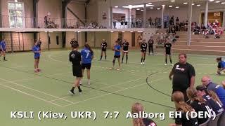 Handball. KSLI (Kiev, UKR) - Aalborg EH (DEN). Viborg. U16girls. Gr PO-A1. GENERATION HANDBALL-2018