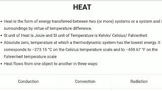 Heat- Physics 4- RRB JE exam - TNPSC - SSC exam