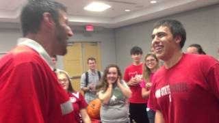 What Happens When an OSU Student Challenges Mike Vrabel...