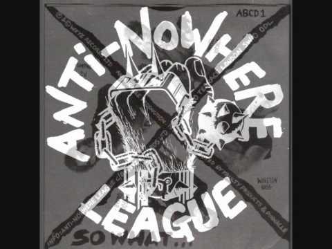 Anti Nowhere League - Going Down (live)