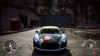 🔥Audi R8 V10 PLUS - Need For Speed Payback