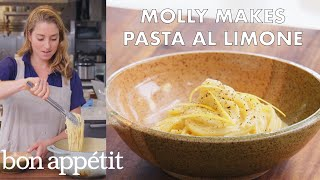 Download lagu Molly Makes Pasta al Limone | From the Test Kitchen | Bon Appétit