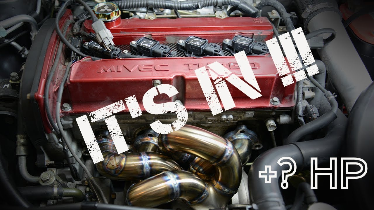 how to install an aftermarket exhaust turbo manifold on evo 9
