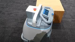 ソフトバンク 業務用小型バキューム掃除ロボット Whiz