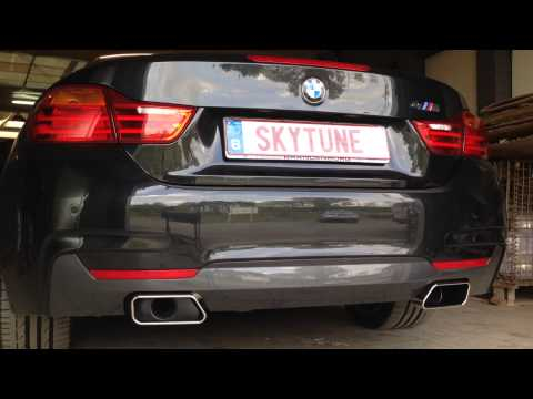 bmw 420d active sound system skytune youtube. Black Bedroom Furniture Sets. Home Design Ideas