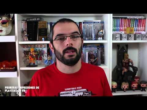 Probando Playstation VR | Jota Delgado