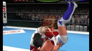 KOC 2 - Jushin Liger vs Kota Ibushi - PCSX2 PS2