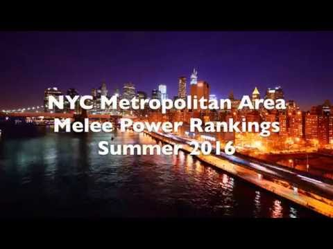 NYC Metropolitan Area SSBM Power Rankings - Summer 2016