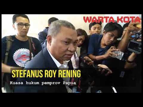 kuasa hukum pemprov papua Stefanus Roy Rening ke polda soal penganiayaan kpk Mp3