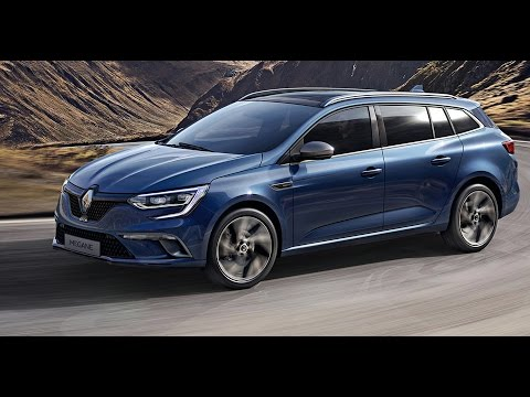 2017 renault megane estate youtube. Black Bedroom Furniture Sets. Home Design Ideas