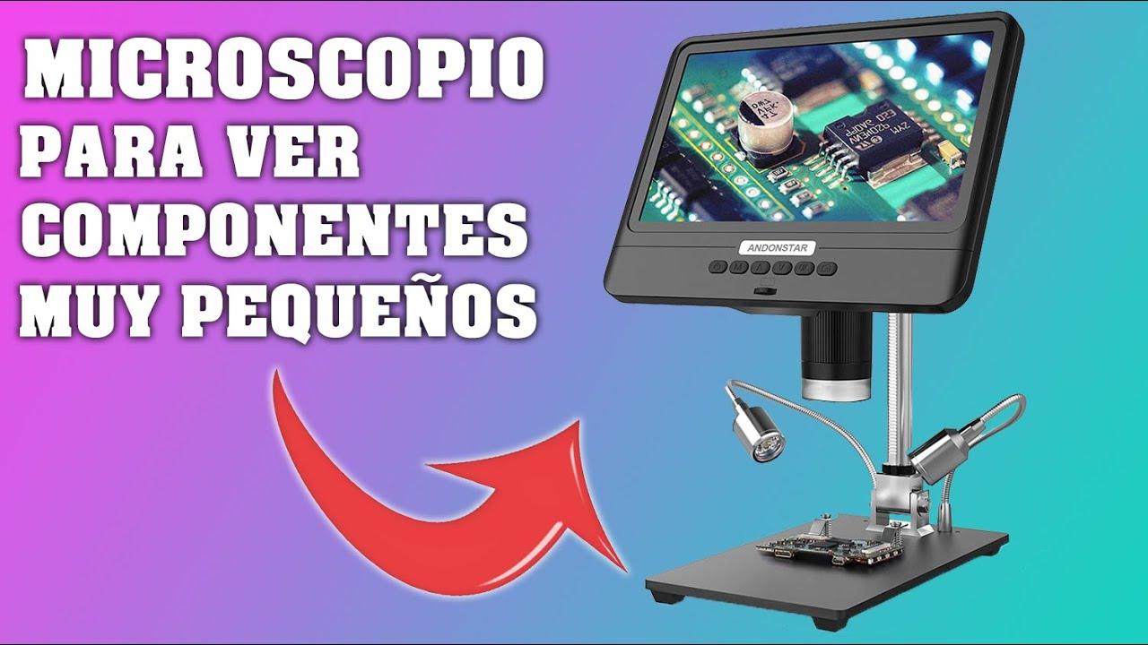 MICROSCOPIO DIGITAL con ALMACENAMIENTO de VIDEOS y FOTOS del OBJETIVO