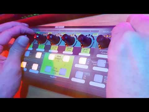 MIDIPOTI Controlling Arturia DX7-V with XTouch Mini and MidiPoti Board