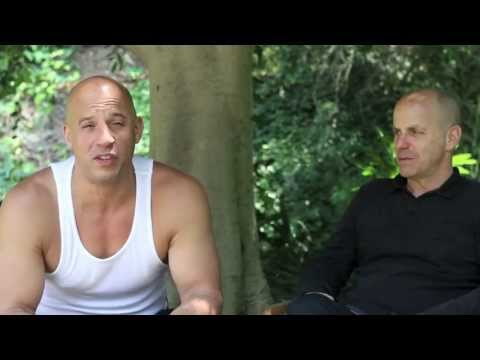 Vin Diesel and Neal H Moritz Fast and Furious 7 meeting