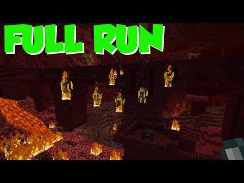 Random Seed Minecraft: FULL RUN, Start To Finish thumbnail