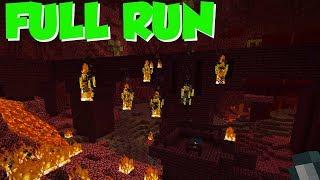 Random Seed Minecraft: FULL RUN, Start To End