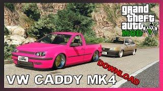 Volkswagen Caddy Mk4 - Gta V Mods !!  Download !