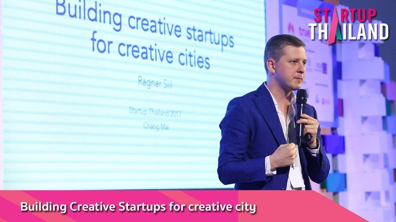 Keynote Speech : Building Creative Startups for creative city