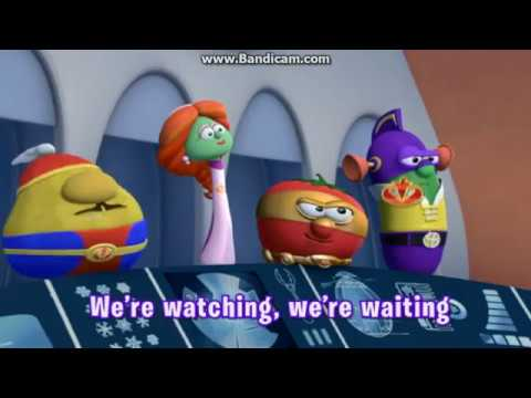 VeggieTales The League of Incredible Vegetables Full Theme Sing Along